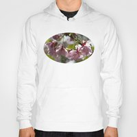 cherry blossom Hoodies featuring Cherry Blossom by Wealie