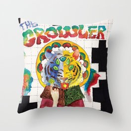 The Growler Throw Pillow