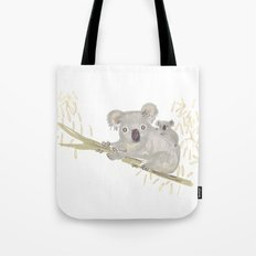 Koala & baby Tote Bag