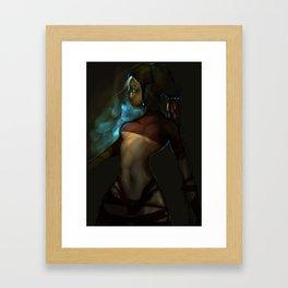 Next Eden Framed Art Print