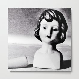 Doll Parts—Bleached Metal Print