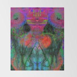 The Swirling Spirit of Creativity Throw Blanket