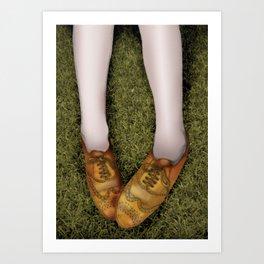 shoegaze... Art Print