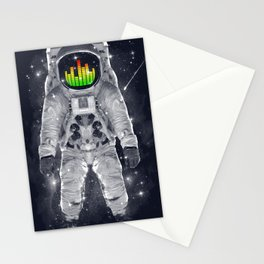 Astronomical Levels Stationery Cards