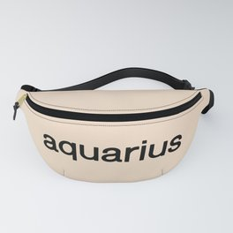 Aquarius (Off-White) Fanny Pack