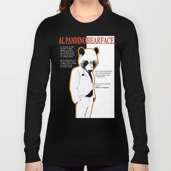 Tony MonPanda - Bearface Long Sleeve T-shirt