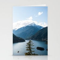 diablo Stationery Cards featuring Diablo Lake. by Eric-Bird