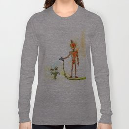 Orange Pours Some Sugar On It Long Sleeve T-shirt