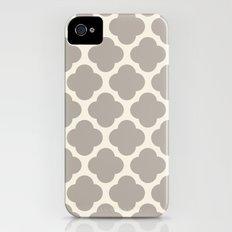gray clover Slim Case iPhone (4, 4s)