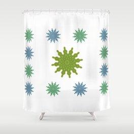 Feeling flaky Shower Curtain