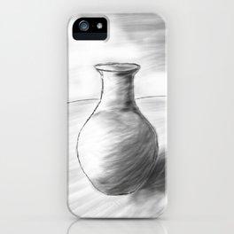 Pot Sketch iPhone Case