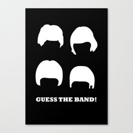 Guess the band! Canvas Print