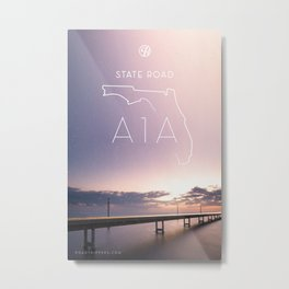 Drive of the Week: State Road A1A Metal Print