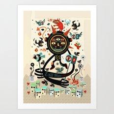 Le Thaumaturge Art Print