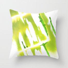 Acid Spring Colors Throw Pillow