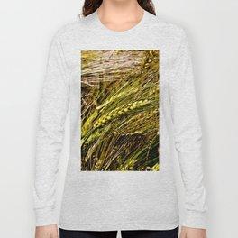 Golden Wheat Field Long Sleeve T-shirt