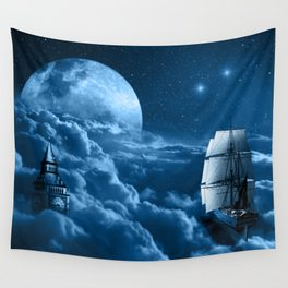Second Star to the Right Wall Tapestry
