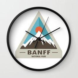 Banff National Park Wall Clock