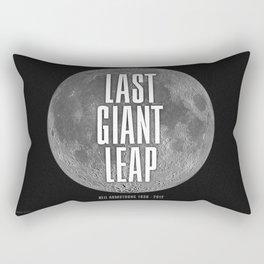 Last Giant Leap Rectangular Pillow