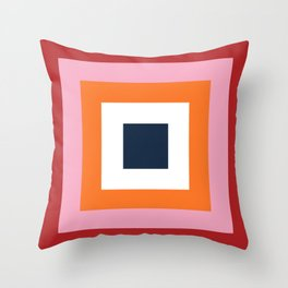 the squares  Throw Pillow