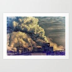 Industry Culture Art Print