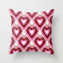 Girl Crush Throw Pillow