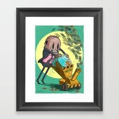 The Chipper Framed Art Print
