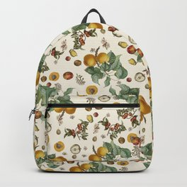 Apples Pears Peaches Backpack