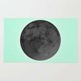 BLACK MOON + TEAL SKY Rug