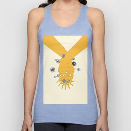 Everything Revolves Around Us Unisex Tank Top