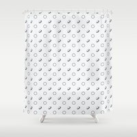 macaroons Shower Curtains featuring Macaroons by annies