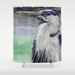 Blue Herring Shower Curtain