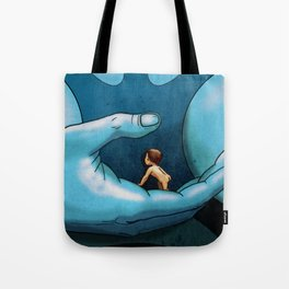 TERR MEETS TIVA IN FANTASTIC PLANET Tote Bag