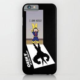 I Am Here! iPhone Case