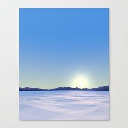 Arctic Vista Canvas Print