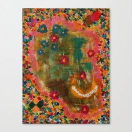 Pretty Skull Candy Canvas Print