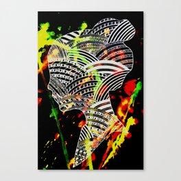 Silouette 2 Canvas Print