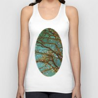 trees Tank Tops featuring Magical by The Last Sparrow