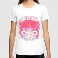 princess bubblegum T-shirts featuring Princess Bubblegum: SCIENCE! by MortinfamiART
