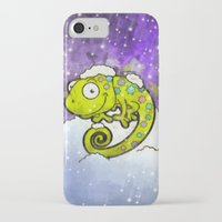 chameleon iPhone & iPod Cases featuring Chameleon by Martin Jonas
