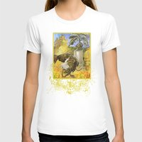 ostrich T-shirts featuring Ostrich by Natalie Berman