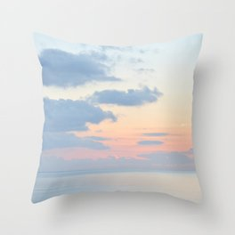 Rio Del Mar Sunset Throw Pillow