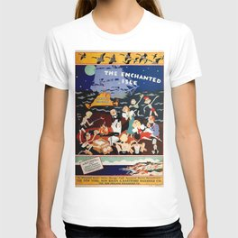 Martha's Vineyard - The Enchanted Isle Vintage Advertising Poster T-shirt