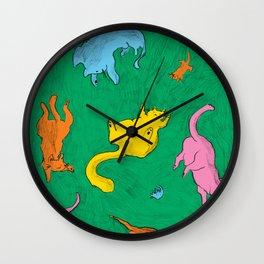 Charming Cats Wall Clock