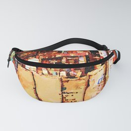 Aleppo: coffee bags in the grocery store Fanny Pack