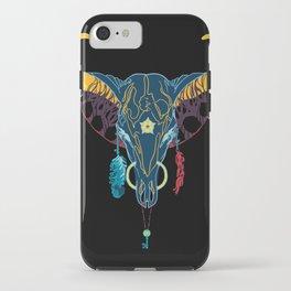 Technicolor Cowboy iPhone Case