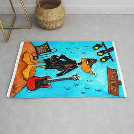 Daffy Young  Rug