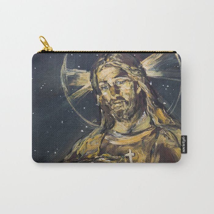 I am the light of the world Carry-All Pouch