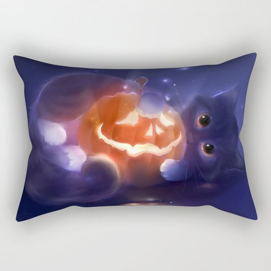Pumpkin Rectangular Pillow