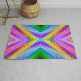 summer rings mirror Rug